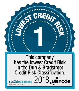 Bisnode DnB Riskiluokka 1 Lowest Credit Risk 1